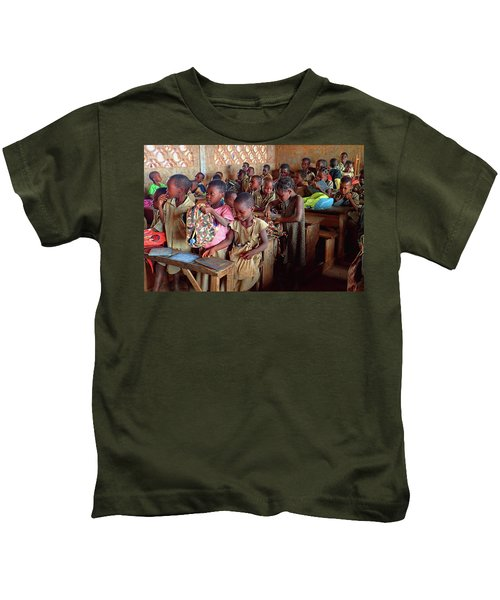 School Children In Class In Togo Kids T-Shirt