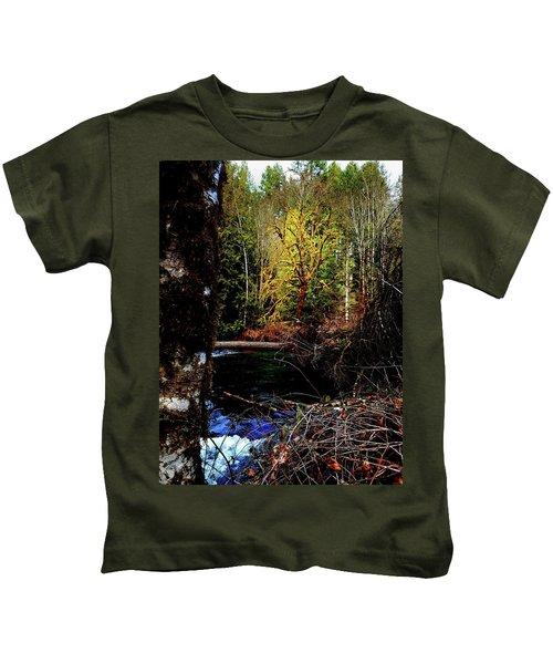 Scoggins Creek 3 Kids T-Shirt