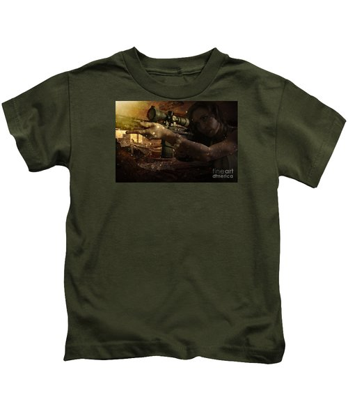 Scopped Kids T-Shirt