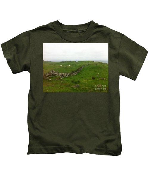 Scottish Wall Kids T-Shirt