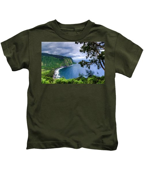 Sea Cliffs Kids T-Shirt