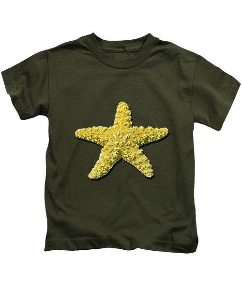 Sea Star Yellow .png Kids T-Shirt