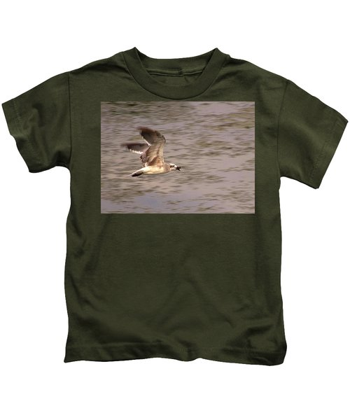 Seagull Flight Kids T-Shirt