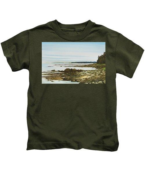 Seawall Mt. Desert Island Kids T-Shirt