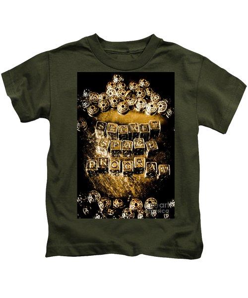Secret Space Program Kids T-Shirt