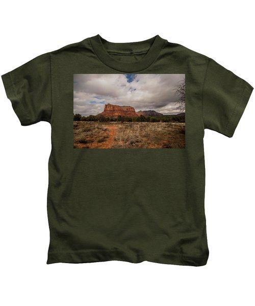 Sedona National Park Arizona Red Rock 2 Kids T-Shirt by David Haskett