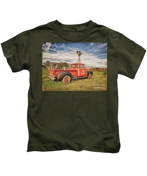 Seen Better Times Kids T-Shirt