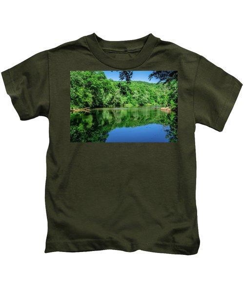 Semi Placid Stream Kids T-Shirt