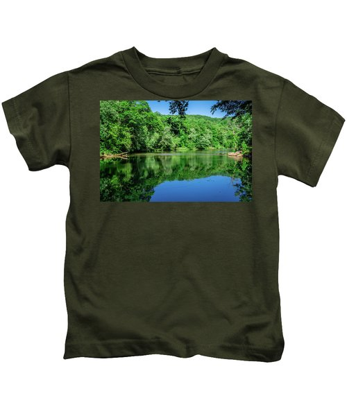Semi Placid Stream Kids T-Shirt