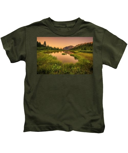 Serene Lake Kids T-Shirt