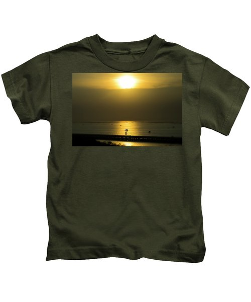 Shaft Of Gold Kids T-Shirt