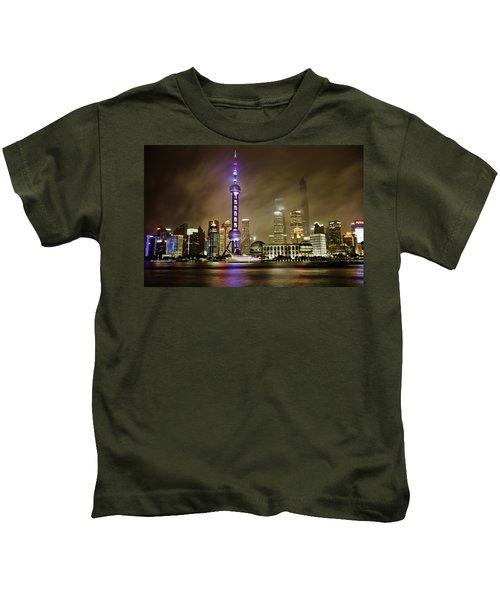 Shanghai Skyline Kids T-Shirt