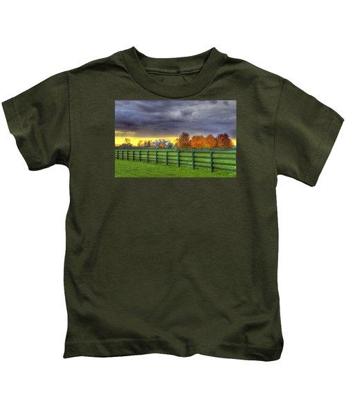Shawanee Barn #2 Kids T-Shirt