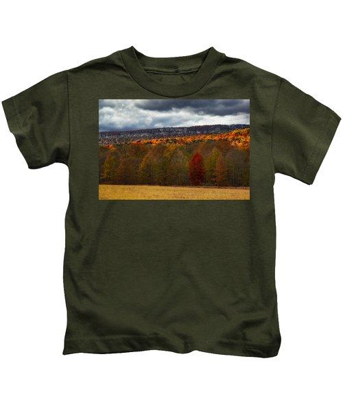Shawangunk Mountains Hudson Valley Ny Kids T-Shirt