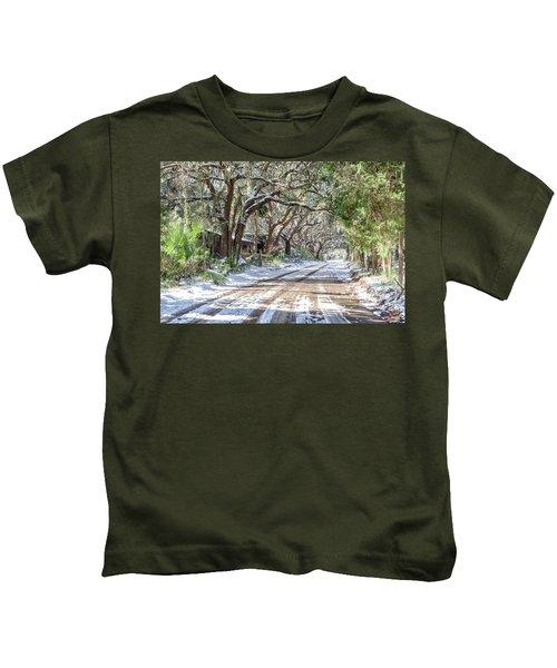 Sheep Farm - Snow Kids T-Shirt