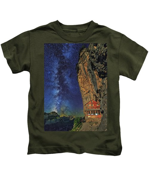 Sheltered From The Vastness Kids T-Shirt
