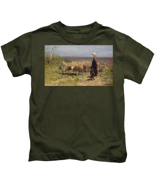 Shepherdess Kids T-Shirt