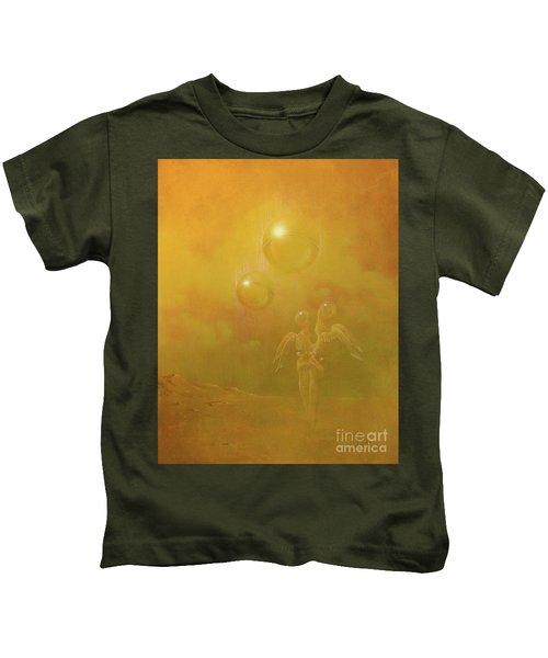 Shipwrecked Lovers Kids T-Shirt