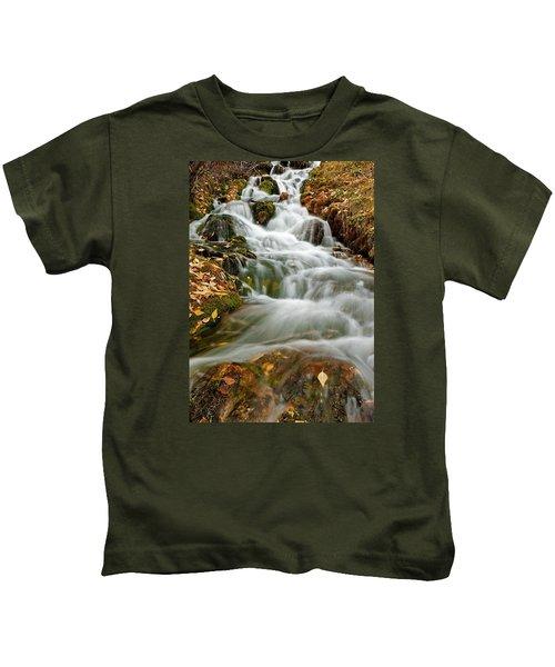 Silky Waterfall Kids T-Shirt