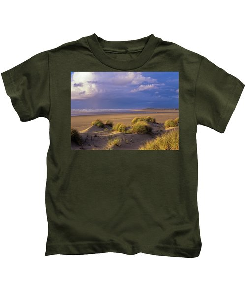 Siltcoos River Mouth Kids T-Shirt