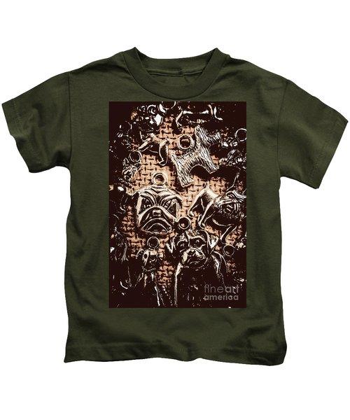 Silver Dog Show Kids T-Shirt