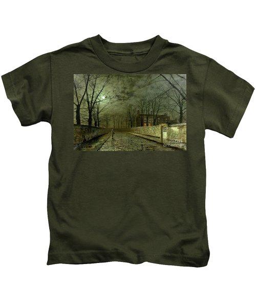 Silver Moonlight Kids T-Shirt