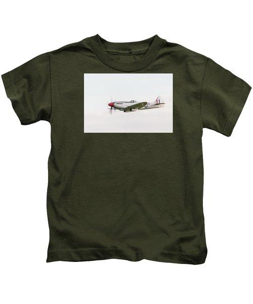 Silver Spitfire Fr Xviiie Kids T-Shirt