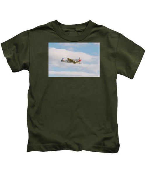 Silver Spitfire Kids T-Shirt