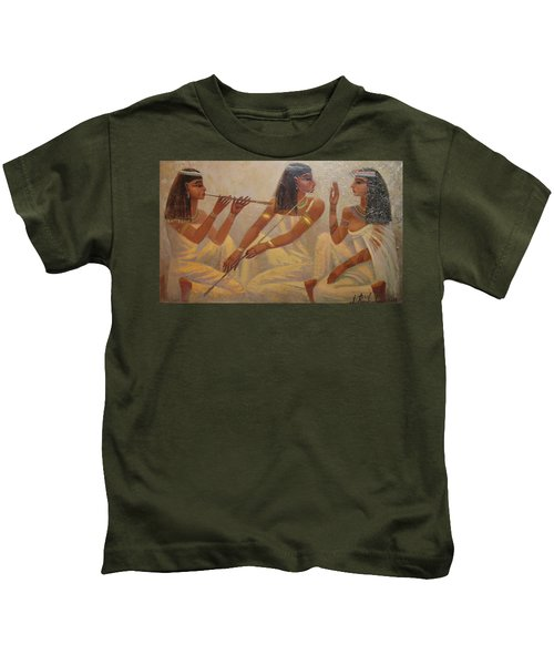 Singers Of Pharaoh Kids T-Shirt
