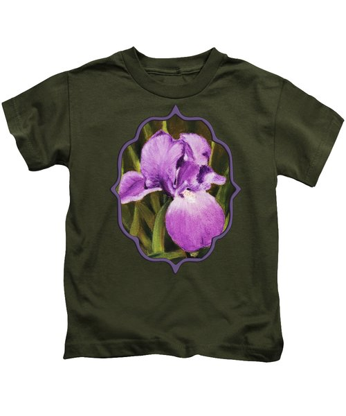 Single Iris Kids T-Shirt
