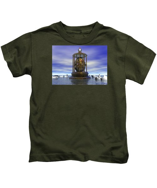 Sixth Sense - Surrealism Kids T-Shirt