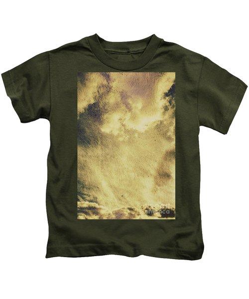 Sky Texture Background Kids T-Shirt