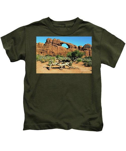 Skyline Arch Kids T-Shirt