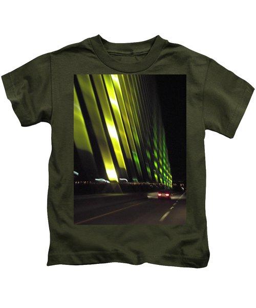 Skyway At Night 5559 Kids T-Shirt
