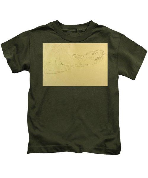 Sleeping Girl Kids T-Shirt