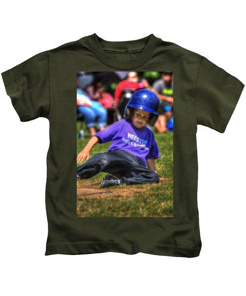 Sliding Home 1822 Kids T-Shirt