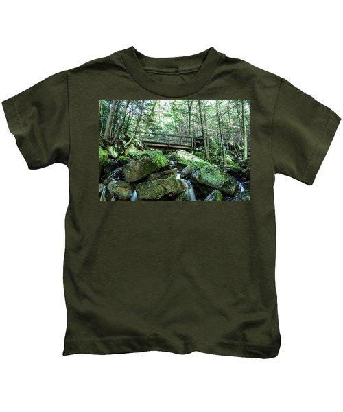 Slippery Rock Gorge - 1930 Kids T-Shirt