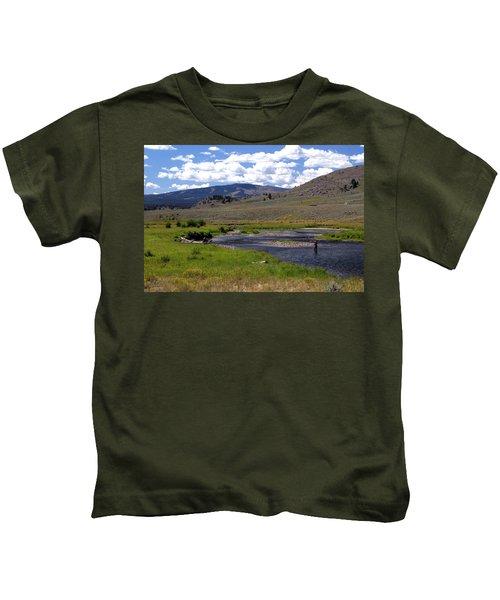 Slough Creek Angler Kids T-Shirt