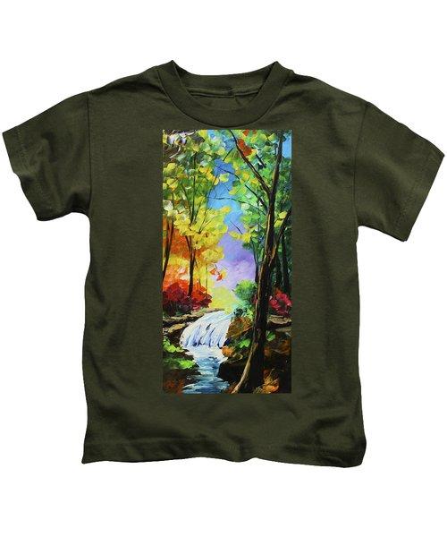Small Waterfall Kids T-Shirt