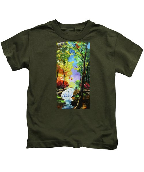 Small Waterfall Kids T-Shirt