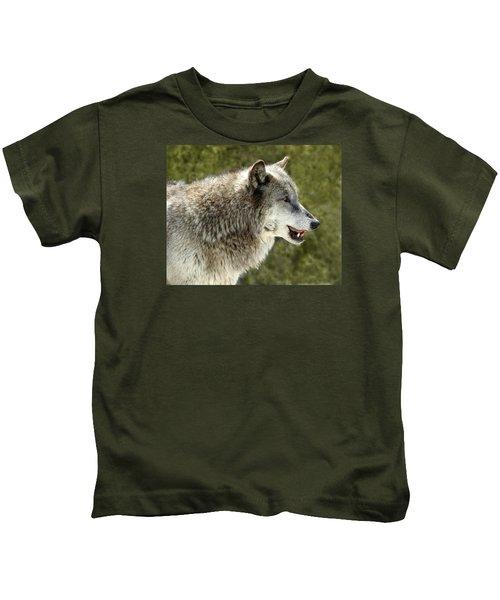 Smiling Wolf Kids T-Shirt