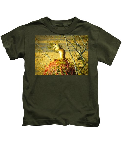Snack Time Kids T-Shirt
