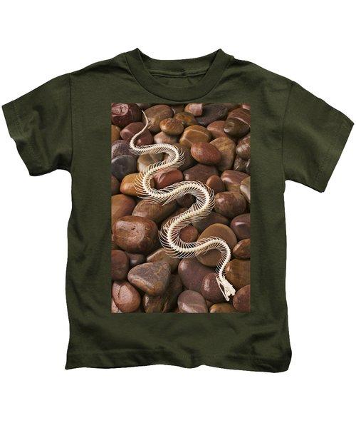 Snake Skeleton  Kids T-Shirt