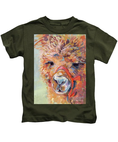 Snickers Kids T-Shirt by Kimberly Santini