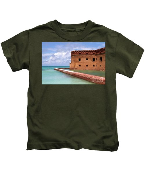 Snorkelers Fort Jefferson Kids T-Shirt