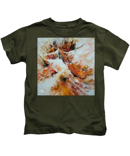 Snow In The Canyon Kids T-Shirt