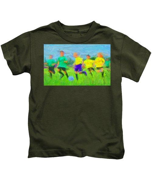 Soccer 3 Kids T-Shirt