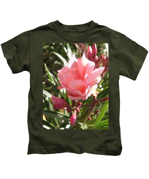 Soft Pink Blush Kids T-Shirt