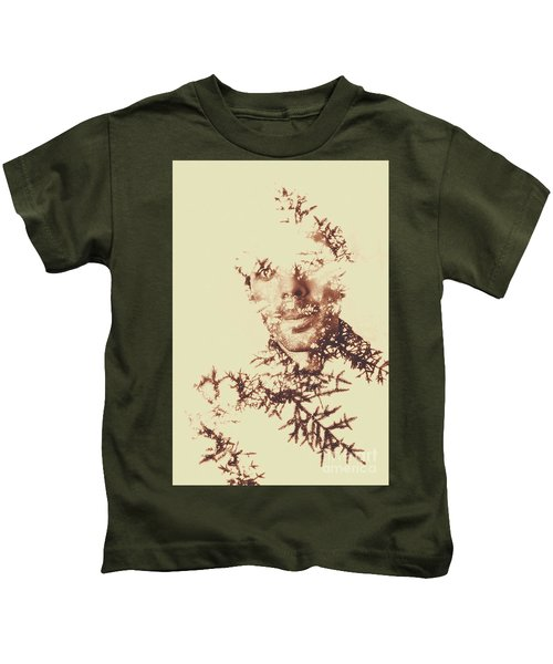 Solace Of Spirit Within Kids T-Shirt