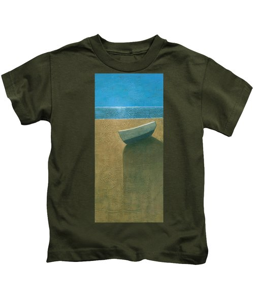 Solitary Boat Kids T-Shirt